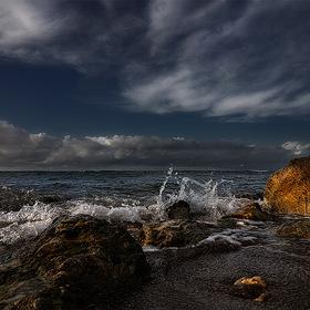 stones @ Mediterranean sea