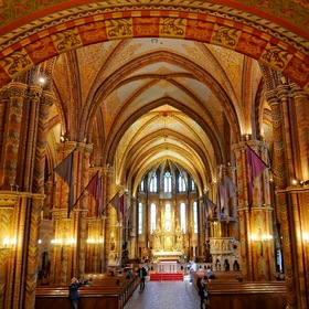 "once more, inside the ""Matthias Church"" ..."