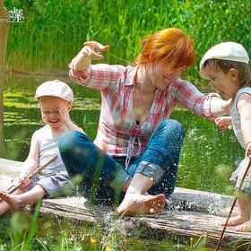 семейная рыбалка в киеве
