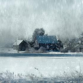 snowing pastoral