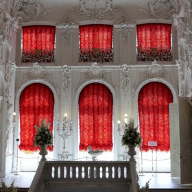 Inside the Catherine Palace.....