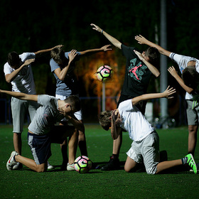 Football photo fantasy / фантазия футбола Nike
