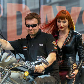 "На фестивале ""St. Petersburg Harley Days"""