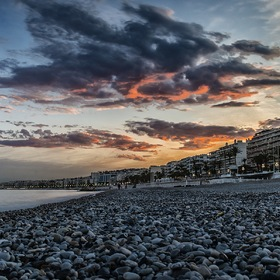 Evening in Nice